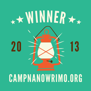 Camp-NaNoWriMo-2013-Winner badge